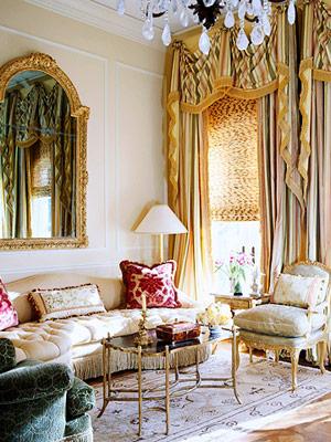 ковры и французский стиль в интерьере фото