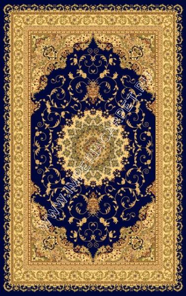 синий ковер, коллекция Болора, Турция, вискоза