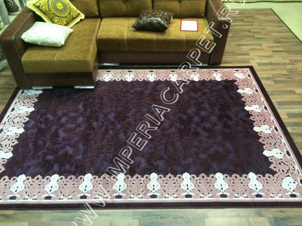 темный ковер фиолетовый, Турция