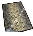 ковер в африканском стиле, имитация шкуры леопарда, фото