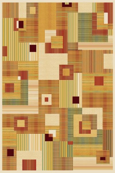 оранжевый ковер, коллекция Матрикс, Бельгия, фото