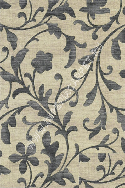 серый ковер узорный, коллекция Аргентум, Бельгия