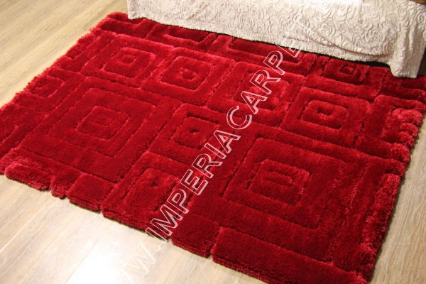 ворсистый красный ковер купить в интернет магазине