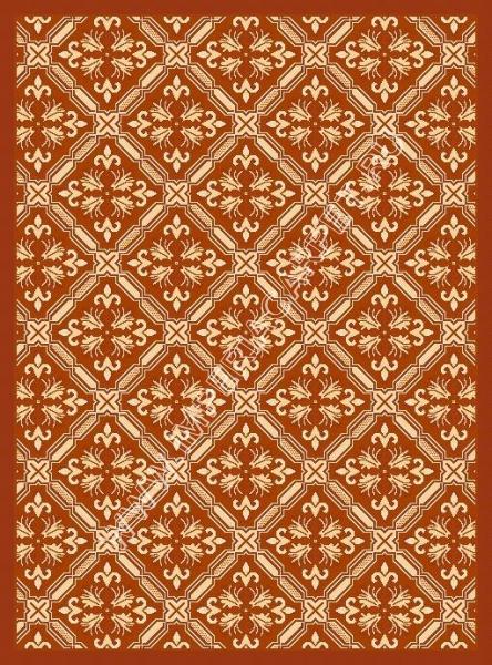 циновка, оранжевый ковер, коллекция Циновки, Турция