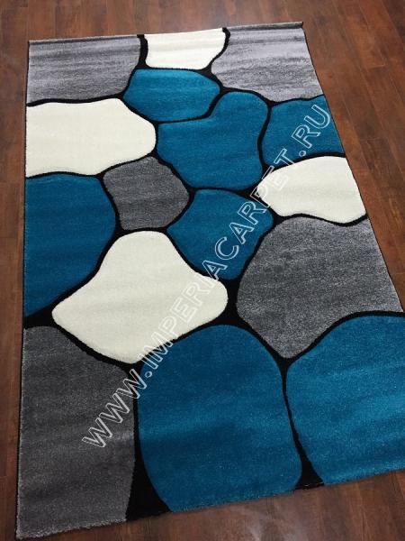 синий ковер, коллекция Глория, Турция