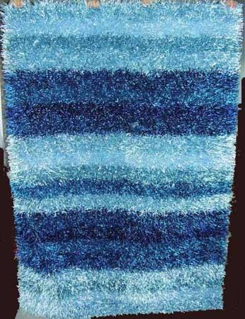 яркий голубой ковер ворсистый, фото