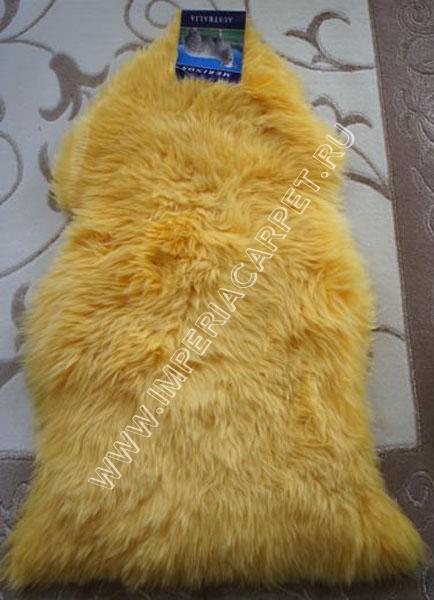 желтая овечья шкура фото
